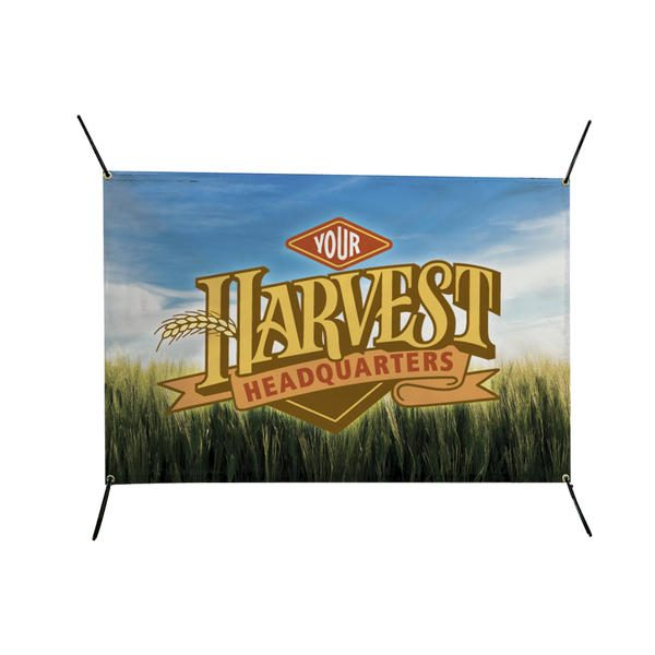 6'W x 4'H In-Ground Banner Post Replacement Graphic