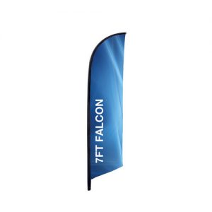 7ft. Falcon Banner Stand Graphic