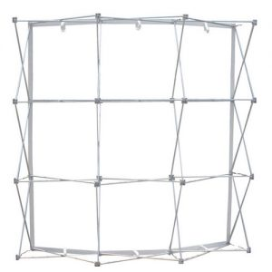 Ready Pop 8FT Curved Popup Display Hardware