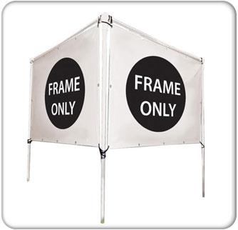 8x5 V-Shape Banner Hardware Only