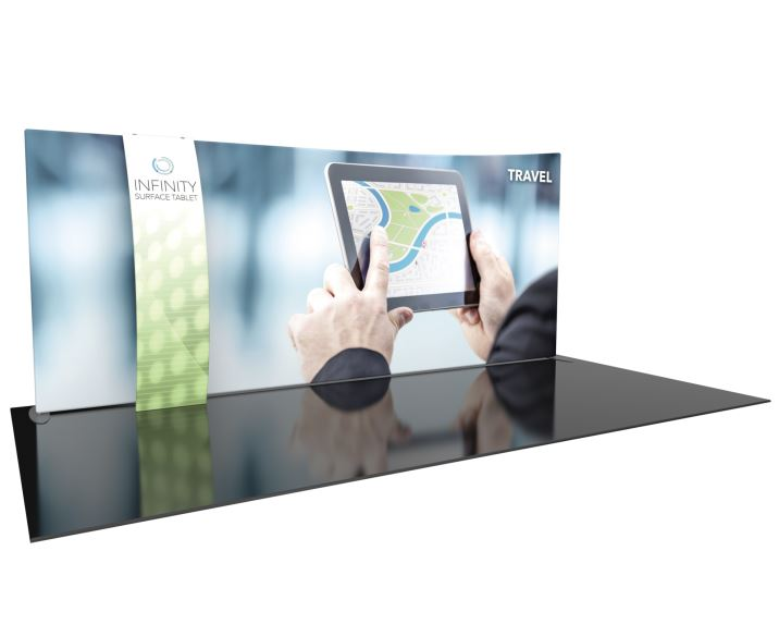 Formulate Designer Series 20ft Fabric Backwall Kit 09