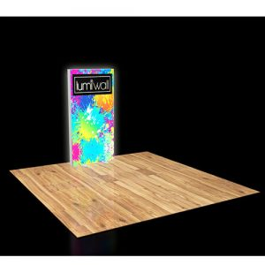 LumiWall 3' x 6' LED Backlit Printed Fabric Display