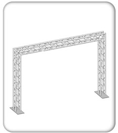 Simple Truss Gate