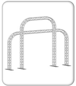 Triple Arch Gate