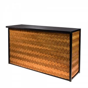 Maxim Dry Bar is a classic black framed bar that is perfect for special events. Available in four different finishes.
