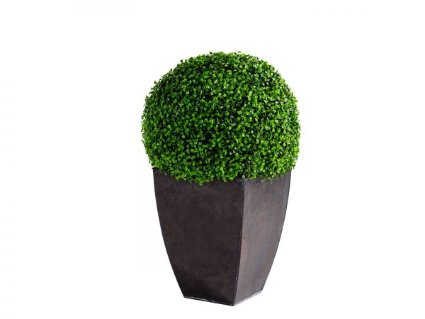 Boxwood Ball is an almost real, high quality ball topiary helps define space and add a touch of green to any space.