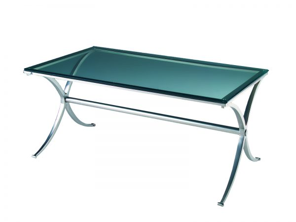 X Table is a glass table with a brushed metal x-base and will make your tradeshow more productive by creating interactive environment.