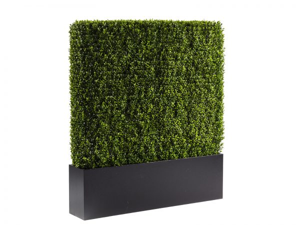 Boxwood Hedge is an almost real, high quality accent hedge helps define space and add a touch of green to any space.