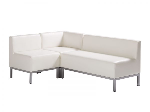 Heathrow Sectional is a stylish, compact and versatile sectional that is perfect for smaller or large modern seating environments.