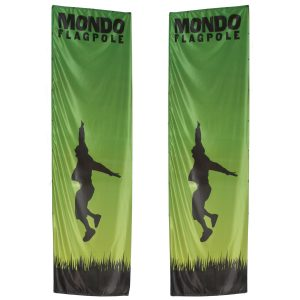 Mondo Flagpole Outdoor Banner System Graphic