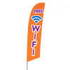 Bowflag Stock Design Free Wifi Flag Banner