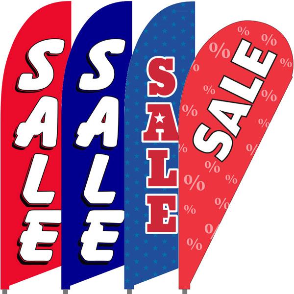 Bowflag® Stock Design Sale Flag Banner