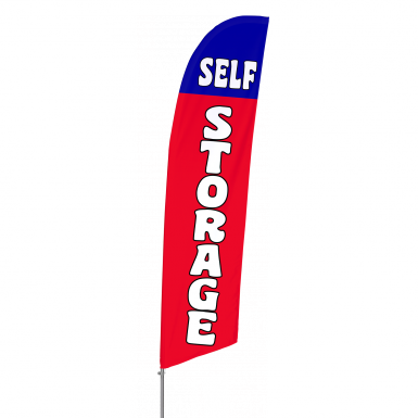 Bowflag Stock Design Self Storage Flag Banner