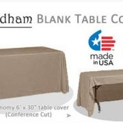 economy table cover sable
