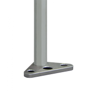 full imprint canopy steel foot