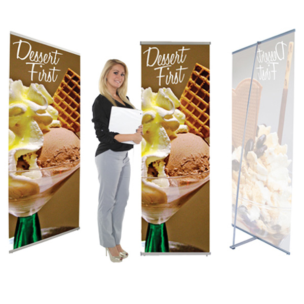 L Banner Stands