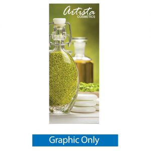 Doublestep Retractable Banner Stand Graphic