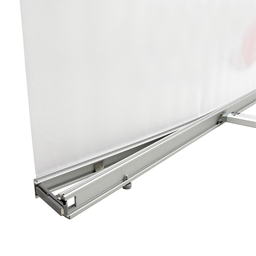 L Banner Stand Curved Graphic Package | Tension Fabric
