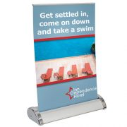 trade show boot-in-a-bag retractable stand