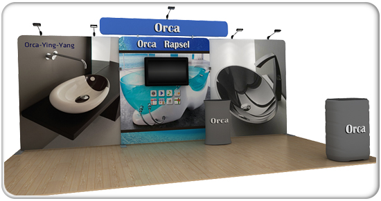 orca 20ft curved waveline media kit