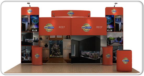 reef 20ft waveline curved media kit