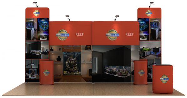 Reef 20' Tension Fabric WaveLine Media Kit