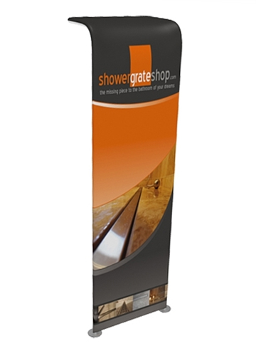 WaveLine Waterfall Tension Fabric Banner Stand