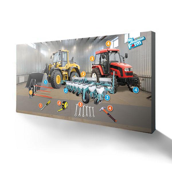 15FT Backwall Machine Display