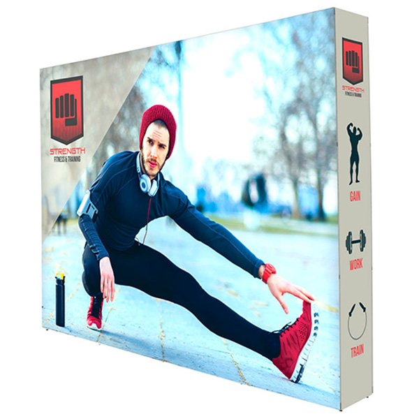 Lumiere Light Wall Double Sided Backlit Display 10ft x 7.5ft