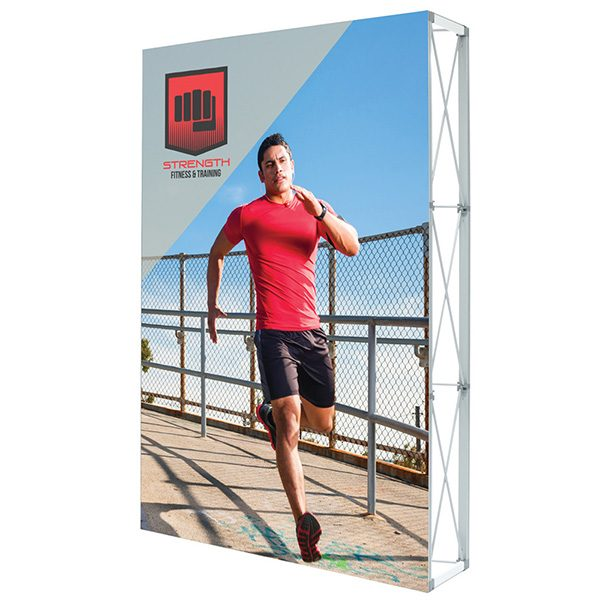 Lumiere Light Wall Single Sided Non-Backlit Display 5ft x 7.5ft