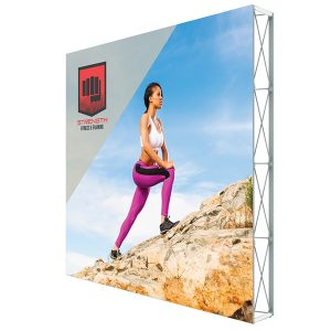 Lumiere Light Wall Single Sided Non-Backlit Display 10ft x 10ft