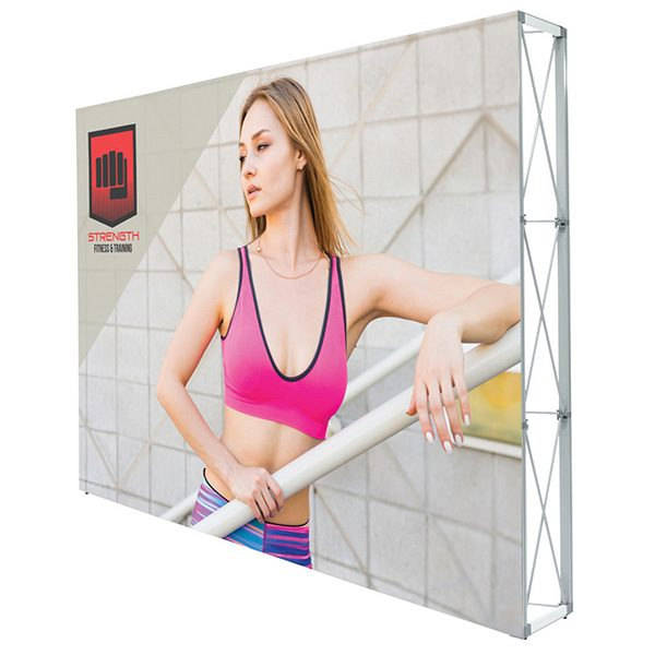 Lumiere Light Wall Single Sided Non-Backlit Display 10ft x 7.5ft