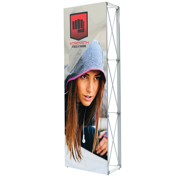 Lumiere Light Wall Single Sided Non-Backlit Pop Up Display
