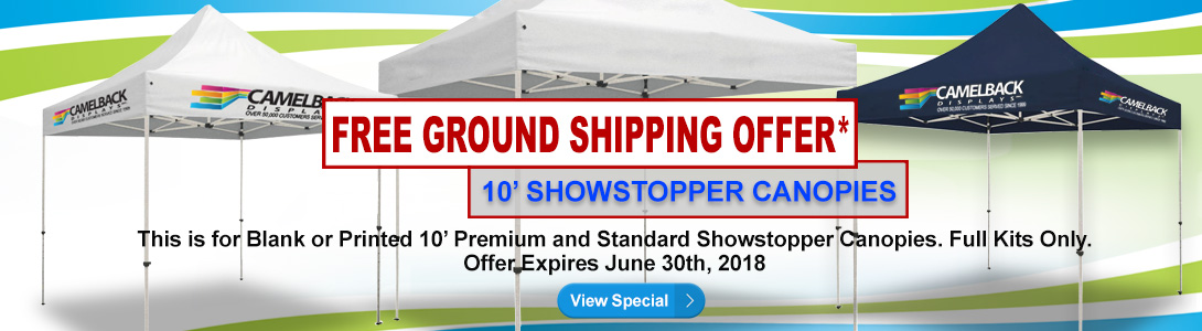 10ft premium canopies view special showstopper canopies