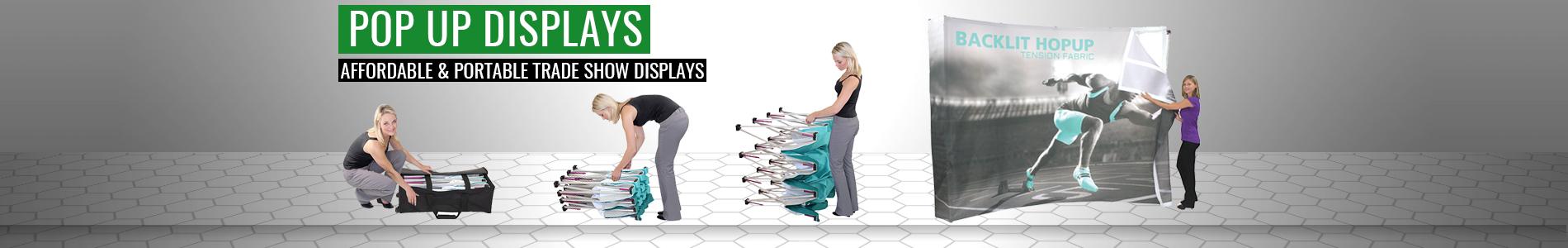 Pop Up Displays Step by Step