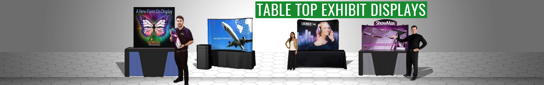 Table Top Exhibit Displays