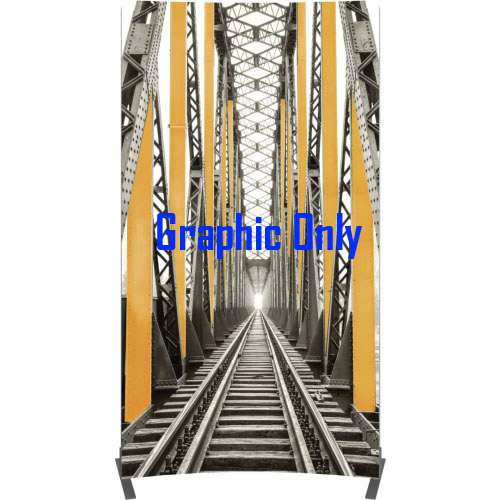 Vector Frame Curved Banner-02 Graphic