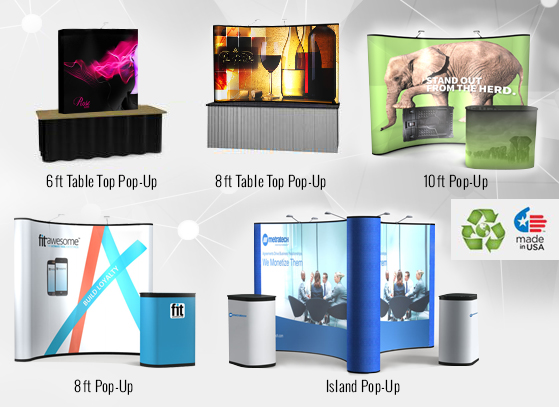 Budget Pop up Displays