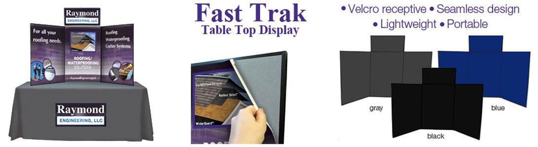 Fast Trak Table Top Display