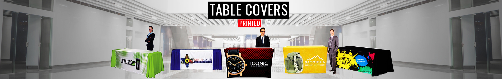 Table Covers Printed