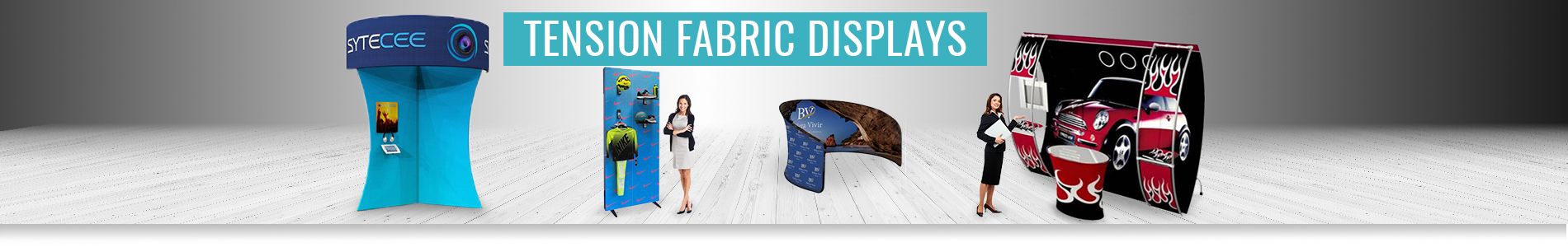 Tension Fabric Displays Systems