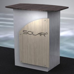 Solar Knock Down Free Standing Counter 3