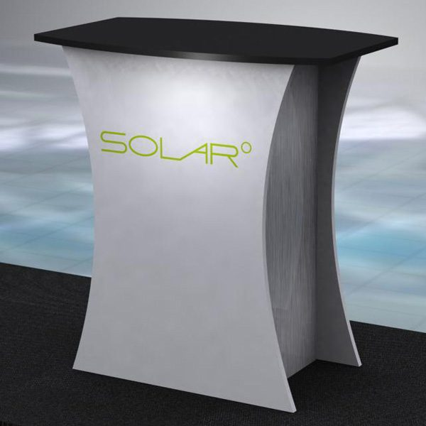 Solar Knock Down Free Standing Counter 4