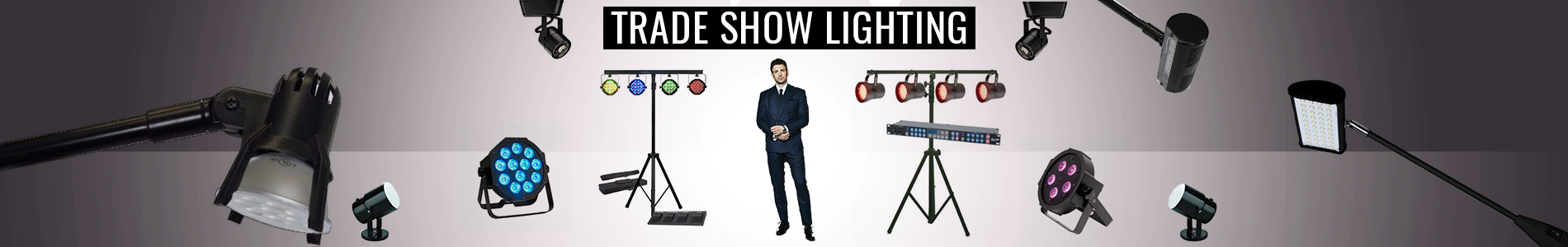 Led Trade Show Display Lights Exhibit Lighting Fixtures
