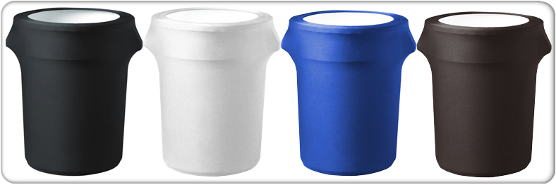 blank contour trash can cover