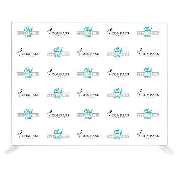 Chef Appreciation 10 FT Straight Tension Fabric Display