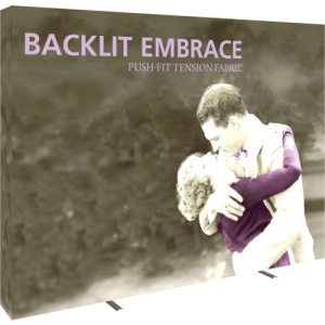 Embrace 10ft Backlit Tension Fabric Display