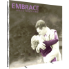 Embrace 10ft Push-Fit Tension Fabric Display left