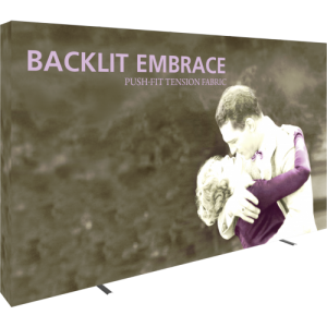 Embrace 12.5ft Backlit Tension Fabric Display