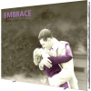 Embrace 12ft Extra Tall Tension Fabric Display front right